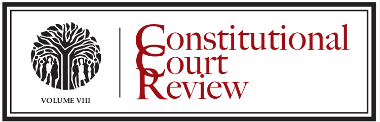 Constitutional Court Review III