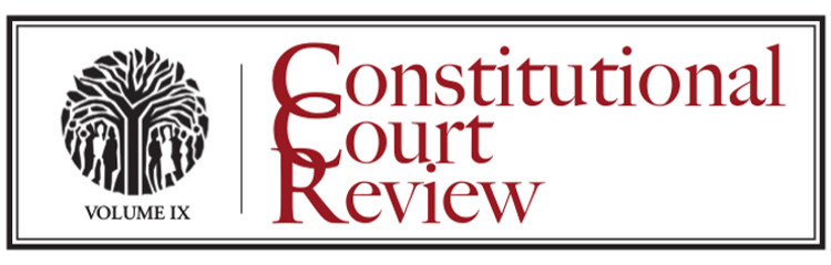 Constitutional Court Review IX